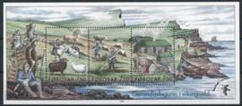 Faroer, michel blok 18, xx