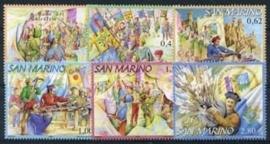 San Marino , michel 2264/69 , xx