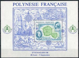 Polynesie, michel blok 12, xx