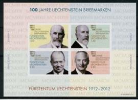 Liechtenstein, michel blok 21, xx