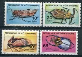 Ivoorkust, michel 562/65, xx
