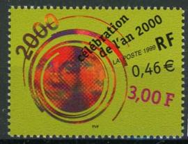 Frankrijk, michel 3401, xx