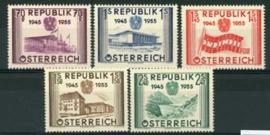 Oostenrijk, michel 1012/16, xx
