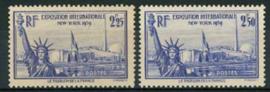 Frankrijk, michel 444/45, xx