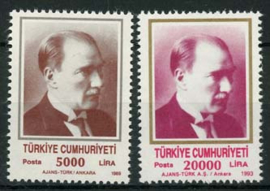Turkije, michel 3000/01, xx