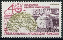 Antarctica Fr., michel 231, xx