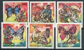 Togo, michel 2153/58, xx