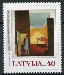 Letland, michel 583, xx