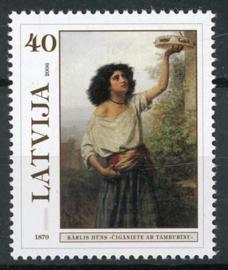 Letland, michel 675 A, xx