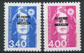 St.Pierre, michel 631/32, xx