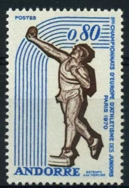 Andorra Fr., michel 225, xx