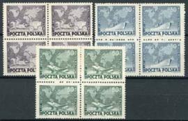 Polen, michel 4 x 533/35, xx