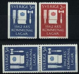 Zweden, michel 487/88,xx