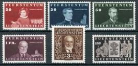 Liechtenstein, michel 186/91, x