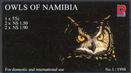 Namibie, michel MH 937/41, xx