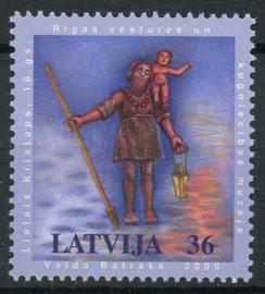 Letland, michel 678, xx