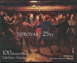 Faroer, michel blok 15, xx