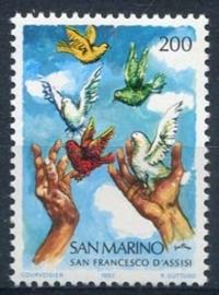 S.Marino , michel 1263 , xx