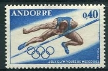 Andorra Fr., michel 210, xx