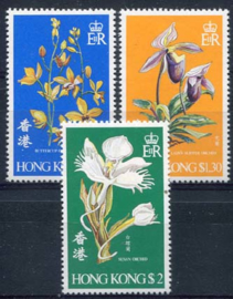 Hong Kong, michel 341/43, xx