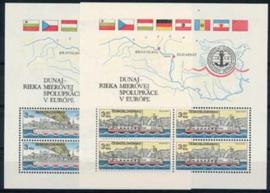 Tsjechoslowakije, michel blokken 51/52, xx