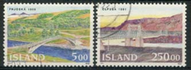 IJslands, michel 768/69,o