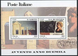 Italie, michel blok 21, xx