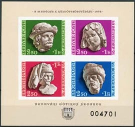 Hongarije, michel blok 118 B, xx
