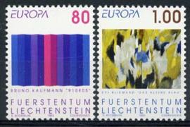 Liechtenstein, michel 1054/55, xx