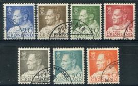 Groenland, michel 52/57, o