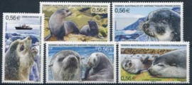 Antarctica Fr., michel 718/22, xx