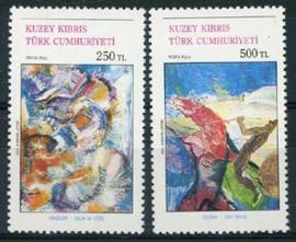 Turks Cyprus, michel 313/14, xx