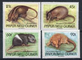 Papua, N. Guinea, michel 677/80, xx