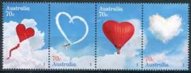 Australie, michel 4256/59, xx