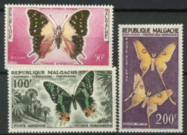 Madagaskar, michel 457/59, xx