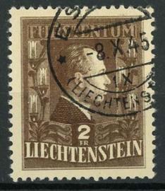 Liechtenstein, michel 238, o