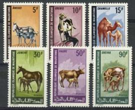 Mauretanie, michel 353/58, xx