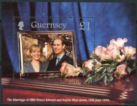 Guernsey, michel blok 23, xx