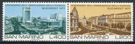 S.Marino, michel 1145/46, x