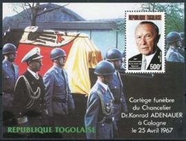 Togo, michel blok 296, xx