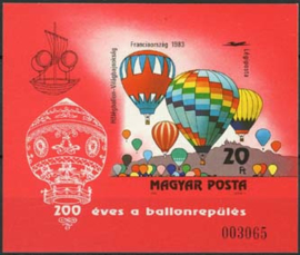 Hongarije, michel blok 162 B, xx