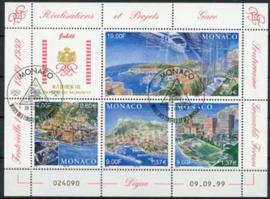 Monaco, michel blok 79, o