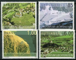 Liechtenstein, michel 1348/51, xx