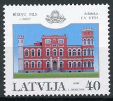 Letland, michel 597 A, xx
