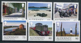 Alderney, views, xx