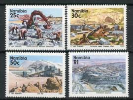 Namibie, michel 671/74, xx
