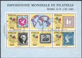 Italie, michel blok 2 , o