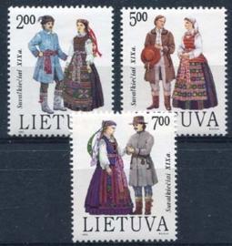 Litouen, michel 508/10, xx
