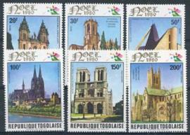 Togo, michel 1501/06, xx
