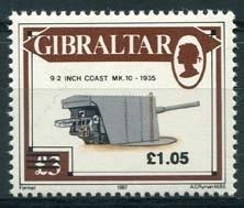 Gibraltar, michel 623, xx